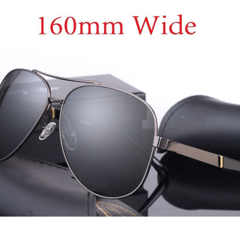 06871493876e Vazrobe 160mm Oversized Mens Polarized Sunglasses Driving Sun Glasses For  Man Fat Face Wide Head Male Sunglass Aviation Locs Sunglasses Suncloud  Sunglasses ...