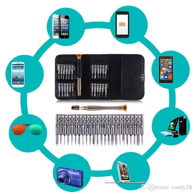 25 in di cacciaviti Torx Kit Herramientas Ferramentas Cacciavite Set di strumenti di riparazione IOS Smart Phone BE Utensili a mano