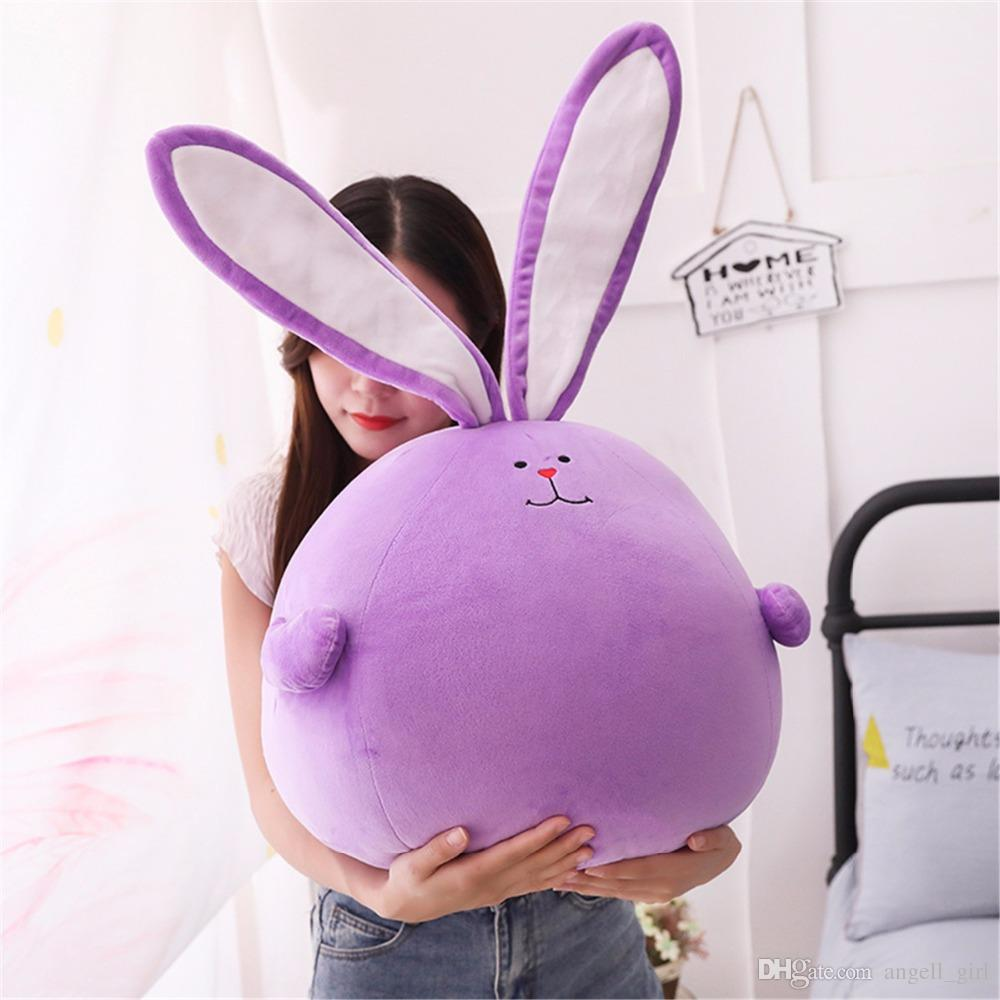 Acquista cm divertente coniglio grasso cartone animato farcito