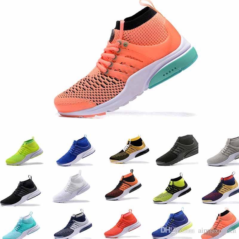 promo code c3a96 7f4e0 Großhandel Neues Produkt Neue Farbabstimmung Presto High Top Strickschuhe  Herren Schuhe Presto Ultra Runner Schuh Chaussures Femme Schuhe Größen Eu36  46 Von ...