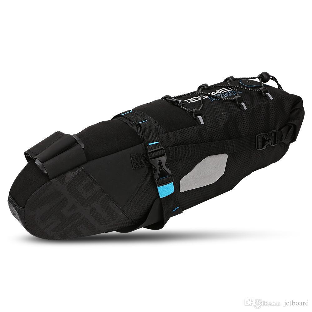 roswheel 131372  2019 ROSWHEEL 131372 Water Resistant 10L Bike Tail Bag Bicycle Rear ...