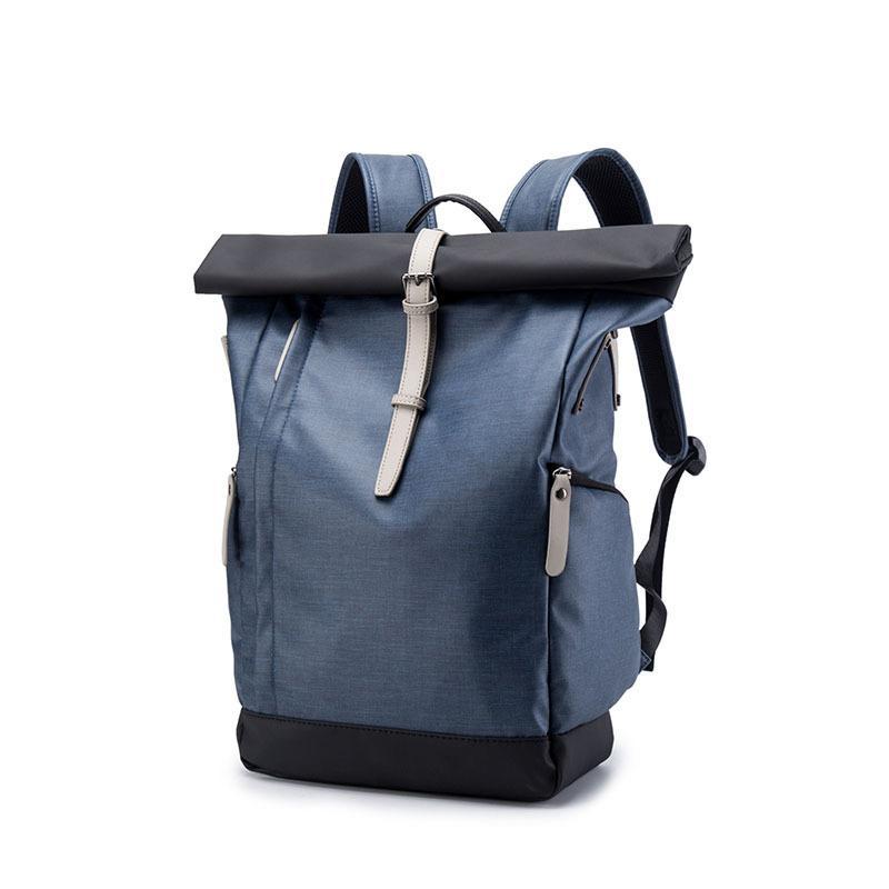Trendy micro fiber leather men backpacks male school bag for teenage jpg  800x800 Trendy school bags b6e4409f97650