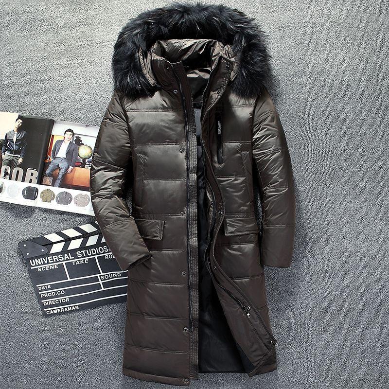 Hombre Chaqueta Plumas Para Hombres Invierno De Abrigo Rusia Compre 7aY687