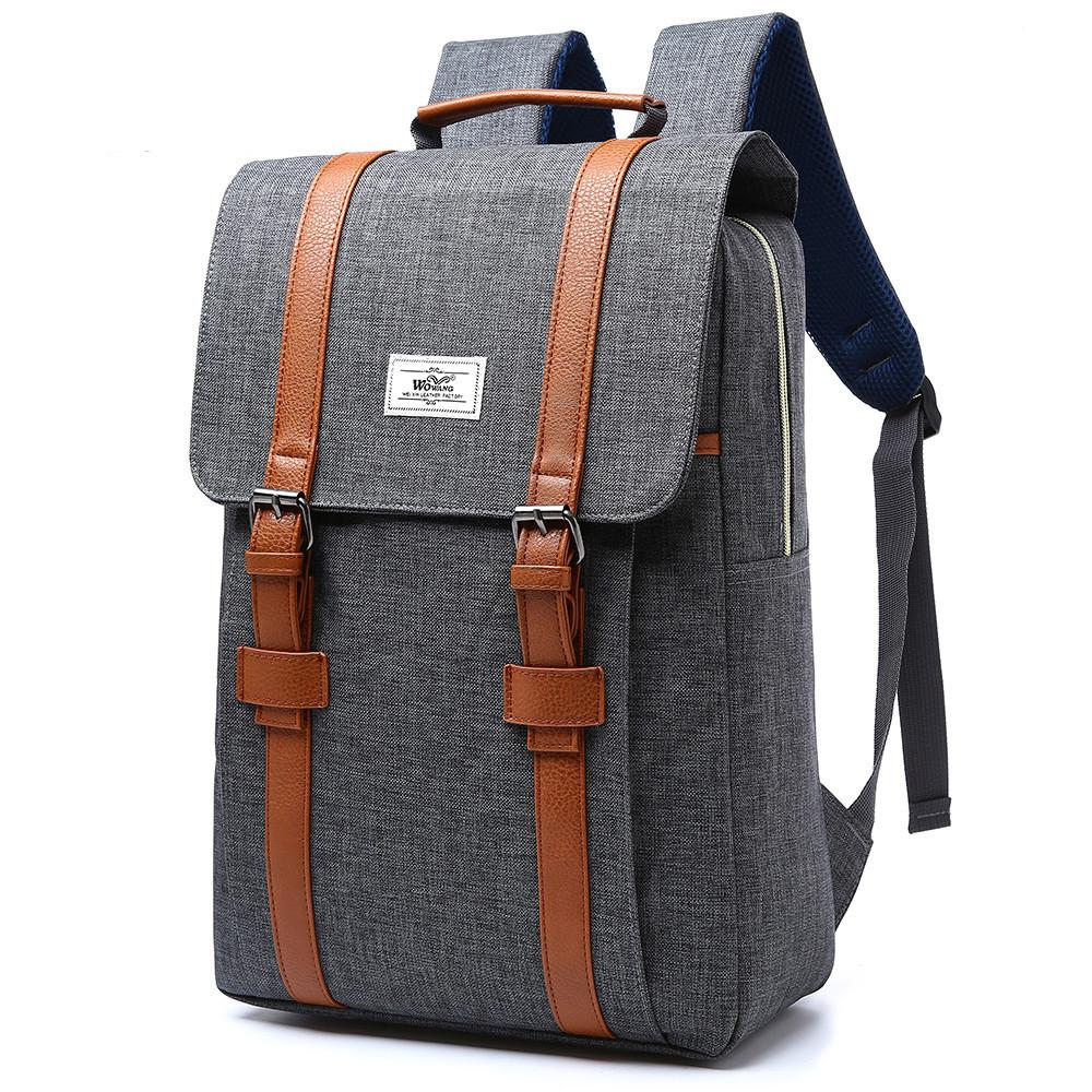1dea6d0806 2018 Vintage Men Women Canvas Backpacks Multifuntion Bags Male Large ...