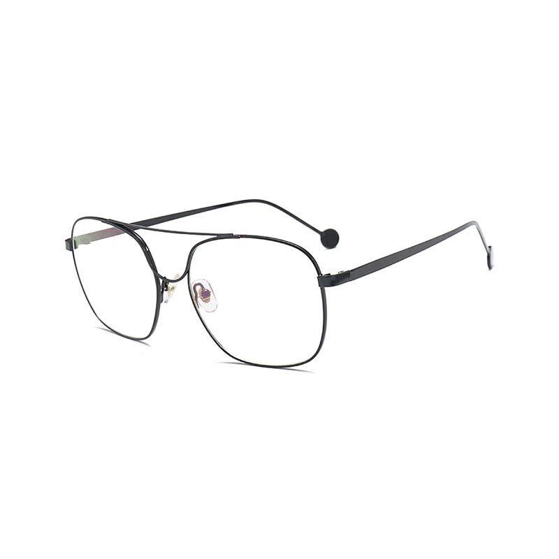 Fashion Women Clear Glasses Gold Frame Glasses Men Optical ...