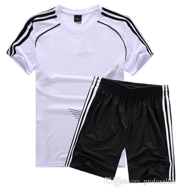 399bb2493 High Quality Child Soccer Jerseys 2018 Child Kids Soccer Set Boys ...