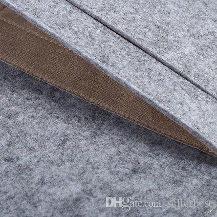VBESLIFE Nuevo 11/13/15 pulgadas de moda suave bolsa de la manga del ordenador portátil cubierta de la caja para Macbook Air Pro Retina Protector cubierta envío gratis