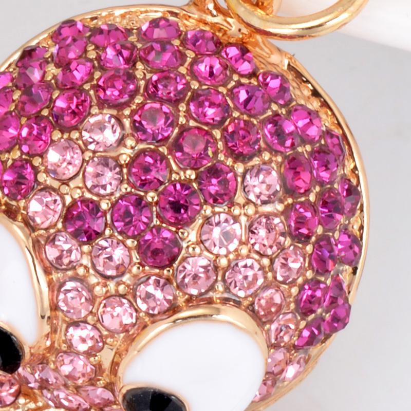 تصميم جديد الأخطبوط لؤلؤة لطيف كريستال سحر قلادة محفظة حقيبة سيارة حلقة رئيسية سلسلة مجوهرات رائعة هدية الإبداعية الملحقات