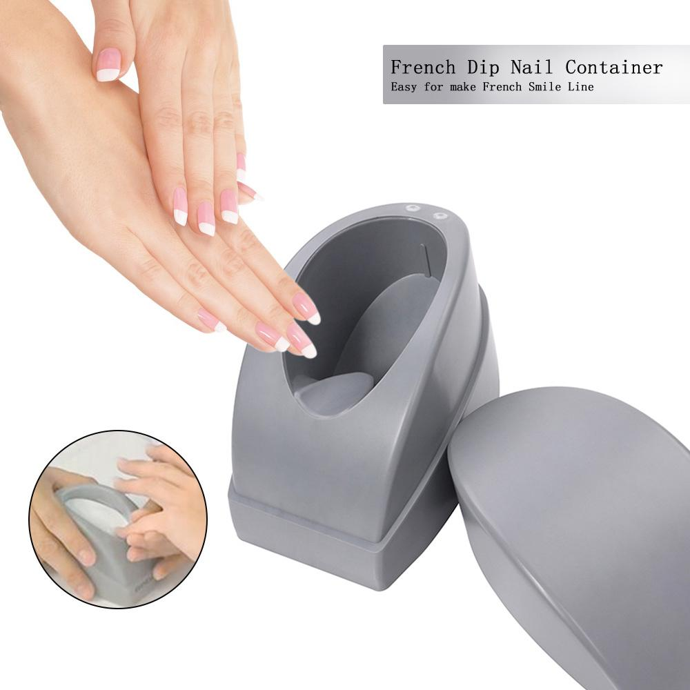 French Dip Nail Container Nails Dipping Powder French Dip Moulding ...
