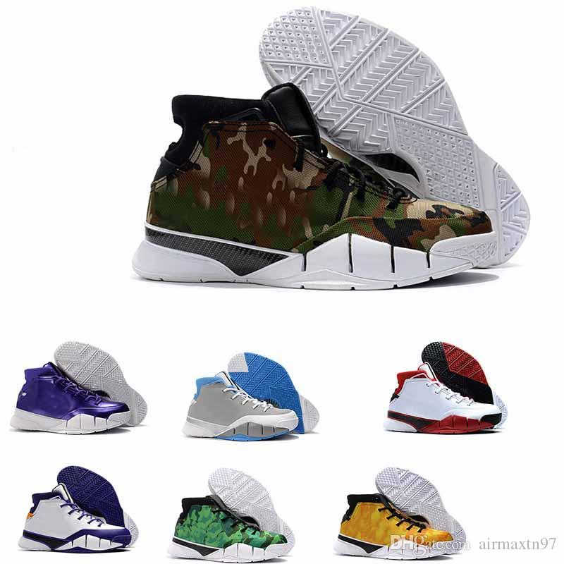c00a963a4cf New Arrived New Kobe 1 Protro ZK1 Black Gold Red Thomas Camouflage ...