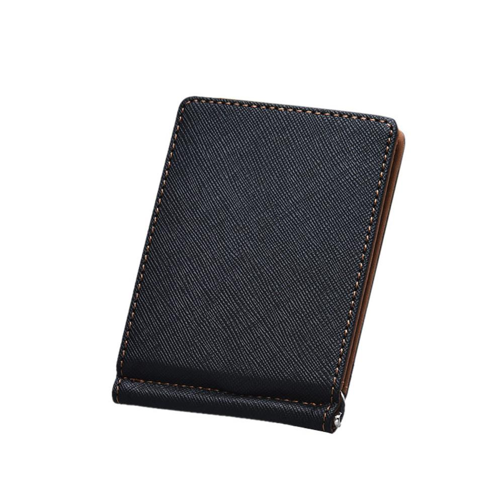Slim magic Men Wallets with Money Clip Bifold Mini Clutch Wallet Thin Credit Card Sleeve Card holder Small Pocket Handy