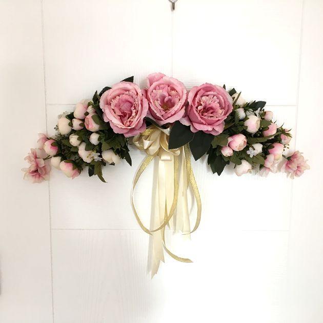 2018 decorative artificial rose flower swag mirror flowers door decorative artificial rose flower swag mirrorg mightylinksfo