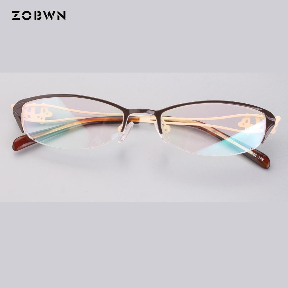 4e6c2f4e9da 2019 Fashion Ladies Optical Glasses Transparent Lens Myopia Eyeglasses  Women Vintage Metal Spectacles Womens Designer Eyeglass Frames From  Jianyue16