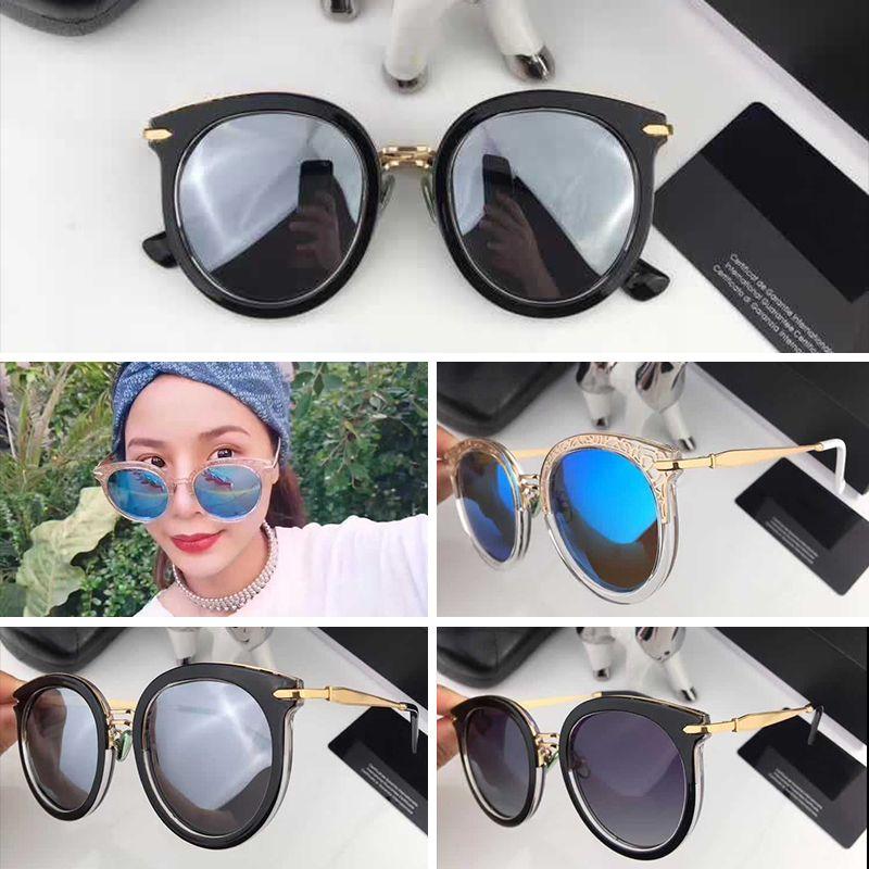 a9706b165ec3 2018 New Luxury CH6805 Sunglasses For Women Design Fashion ...