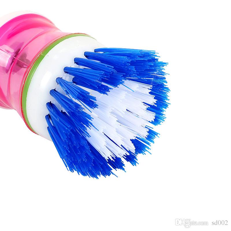 Scrub Brush For Plastic Facilitate Hydraulic Fluid Pressure Dishwashing Cleaning Brushes New Brush Pot 1 3jj V