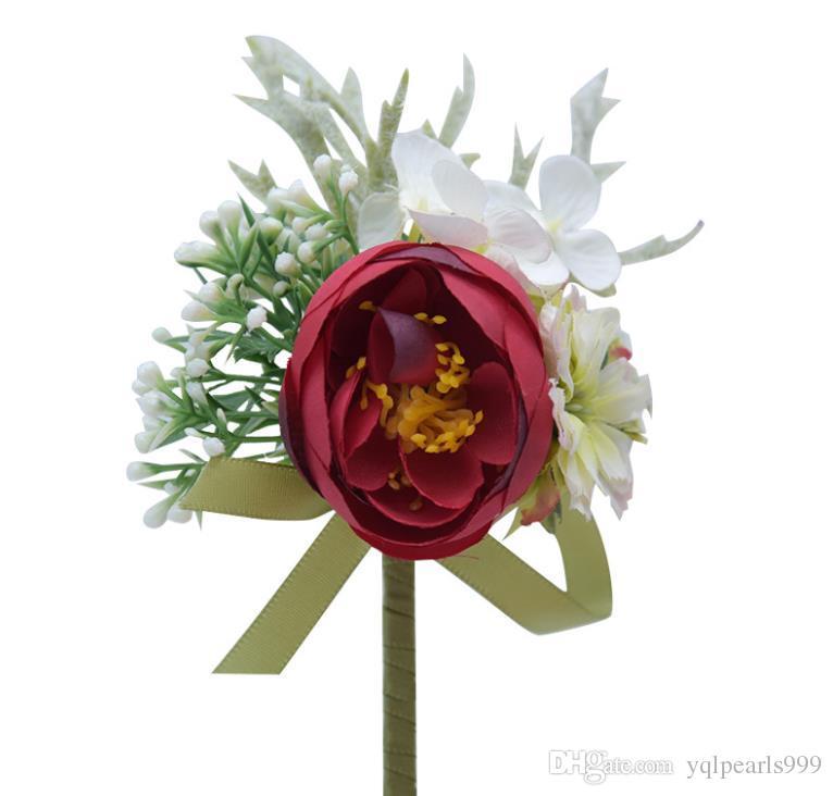 Eternal Angel Sen Broom Brooch Ribbon Flower Decoration Gift Box