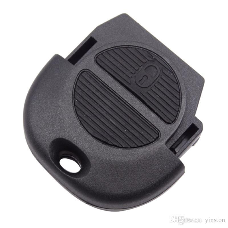 Venta al por mayor de 2 botones con llave remota FOB Case Shell para NISSAN Almera Primera Micra X-Trail VE364 W0.5
