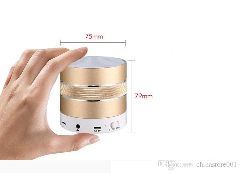 Newest Mini Bluetooth Speaker Cheap Wireless Stereo Bluetooth Speakers With Mic Support TF Card Answer Calling FM Radio MP3 Player Update A9
