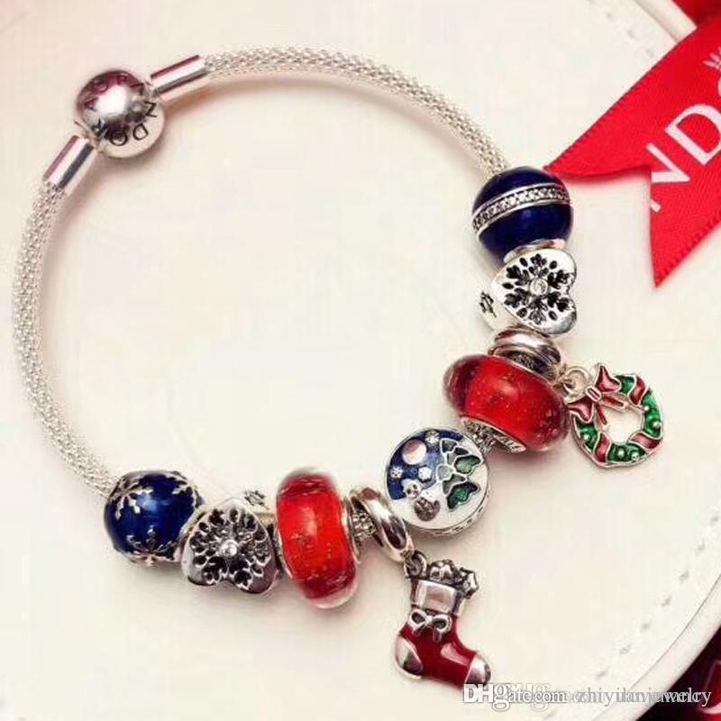 Großhandel Meistverkaufte Charme Armbänder Weihnachtsverkauf ...