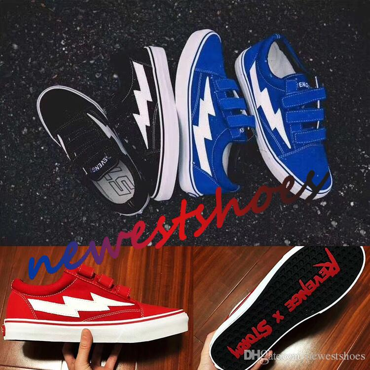 Compre Venganza X Storm Era Hook Correas Ii Vol. 1 Low Top Blue ... fd69a882e0f