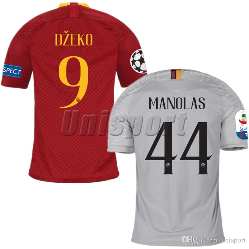 5c1d12b3285 2017 18 Rome Home Away Soccer Jerseys Totti Dzeko Futbol Camisa As ...