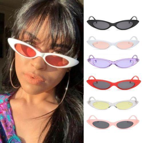 08e1f37ab8 Vintage Cat Eye Sunglasses Women Retro Small Frame Fashion Jewelry UV400  Glasses 2018 Summer Fashion Hot Sale Sunglasses Cat Eye Sunglasses Round  Sunglasses ...
