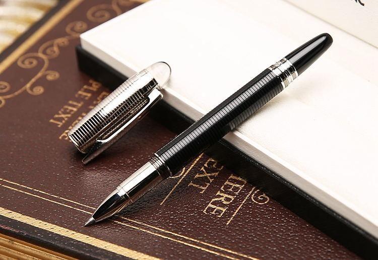أقلام الحبر الشحن مجانا أفضل كوالتيي سوبر الجودة M القلم لوازم المدرسة القلم SW-سترايبس المعادن مكتب الأقلام المعدنية الترويج القرطاسية
