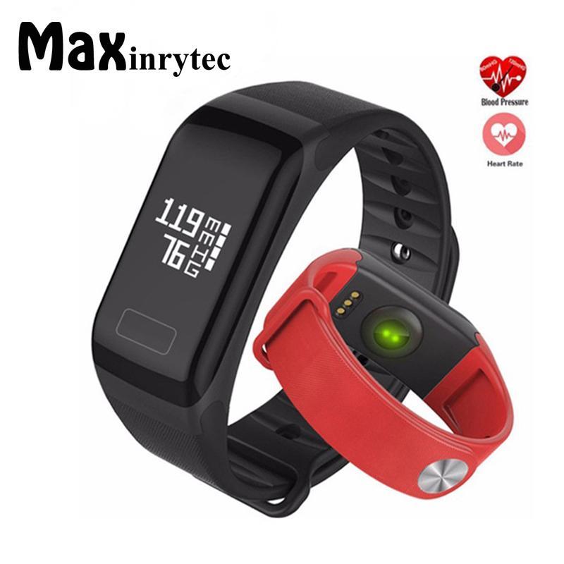 91085e125808 ... De Fitness F1 Pulsera Monitor De Ritmo Cardíaco Smart Bracelet  Smartbracelet Presión Arterial Con Podómetro Pulsera 10 Unids   Lote Reloj  Inteligente ...