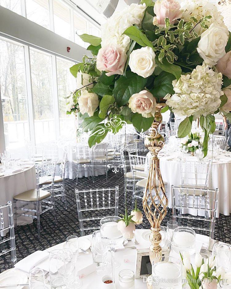 Grosshandel Hochzeit Blumenstander Riser Blume Saule Kerzenstander