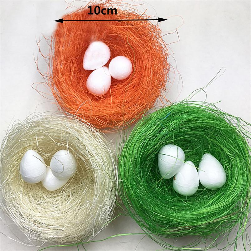 Pf 5 قطع ملون الحرير الاصطناعي المواد التعبئة ل هدية مربع عش الطيور جعل حزب مهرجان الديكور diy الديكور حلية