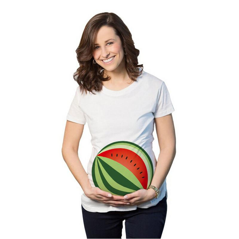 aa6b9a7e5db2a 2019 Spring Summer Maternity Shirt Funny Pregnancy Clothes Cotton Maternity  Tops Cute Short T Shirt For Pregnant Women Wear DX01 From Friendhi, ...