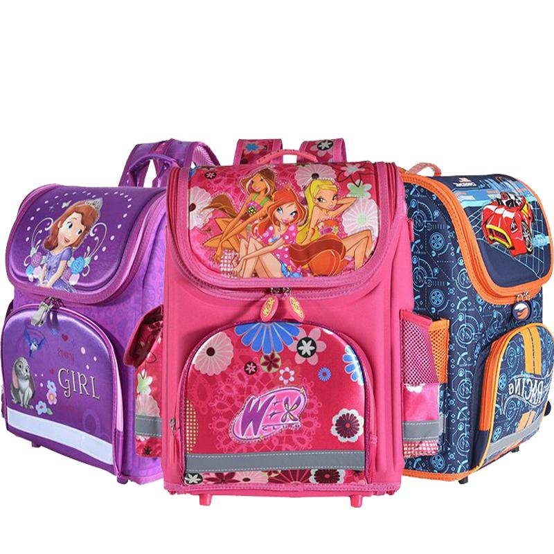cbd3e39f9d09 Kids Hot Girls School Backpack Monster High Butterfly Winx EVA FOLDED  Orthopedic Children School Bags Girls Mochila Infantil Y18100704 Boys  Backpacks On ...