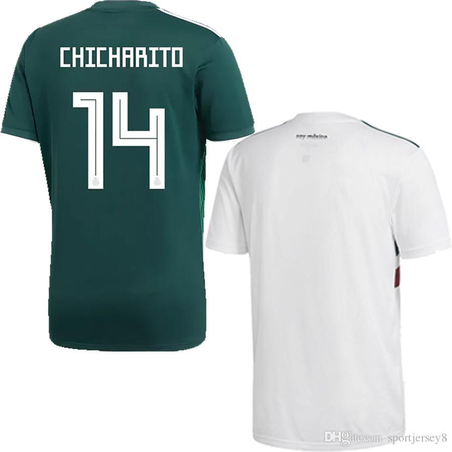 2018 World Cup Mexico National Team Men Women Soccer Jerseys New ... e6fe3db7f