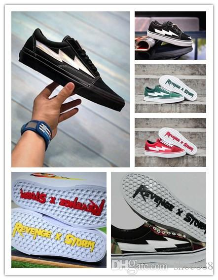 a6e9c32b609f Wholesale Revenge X Storm Old Skool Black Laser Casual Shoes Kendall Jenner  Best Footwear Ian Connor Revenge X Storm Fashion Current Shoe White Shoes  Wedges ...