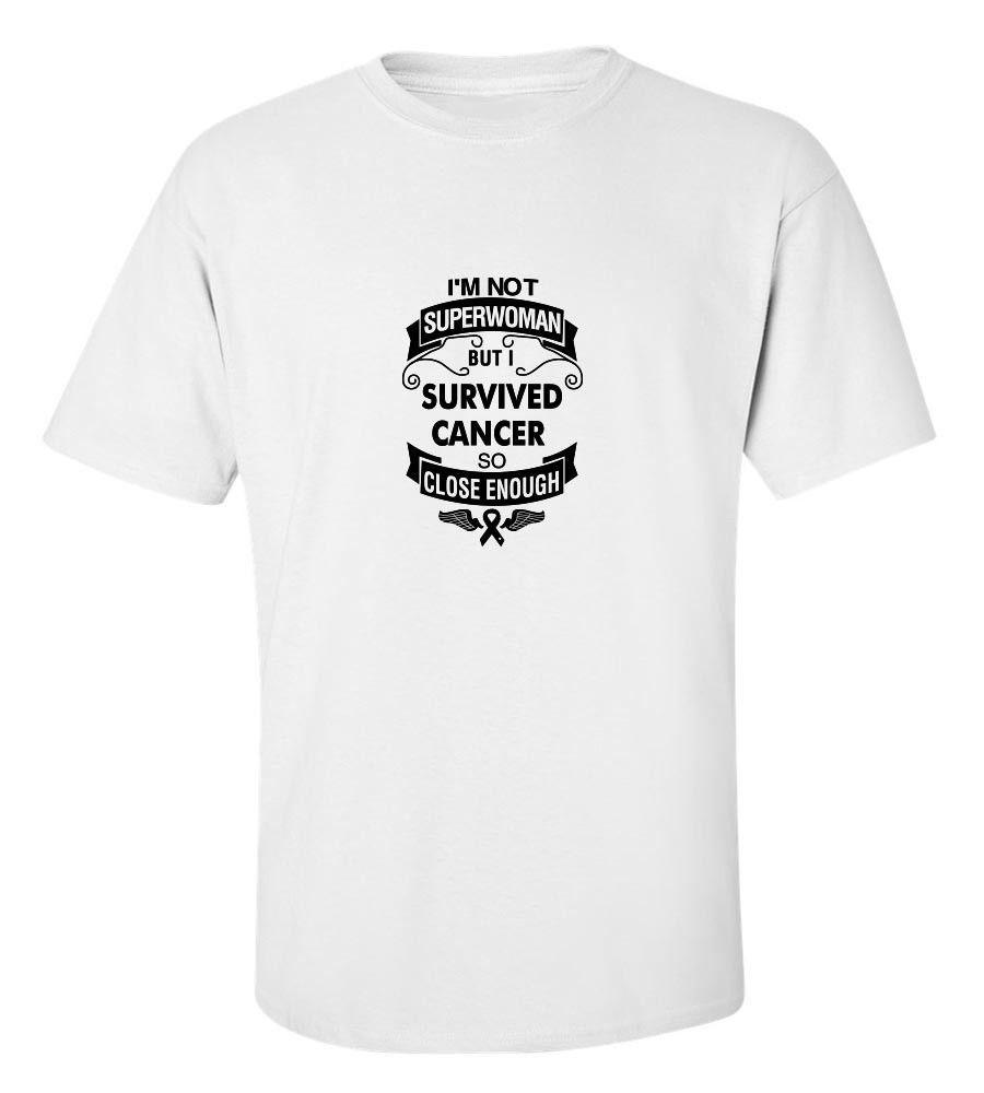 582743ce Breast Cancer Awareness I'M Not Superwoman T-Shirt Fl 2944 T Shirt Men's  Grand Art Short Sleeve Cotton Custom 3XL Group Shirts