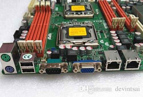 Para a motherboard do servidor X58 PN # Z8NA-D6 1366pins suportam a série X5600