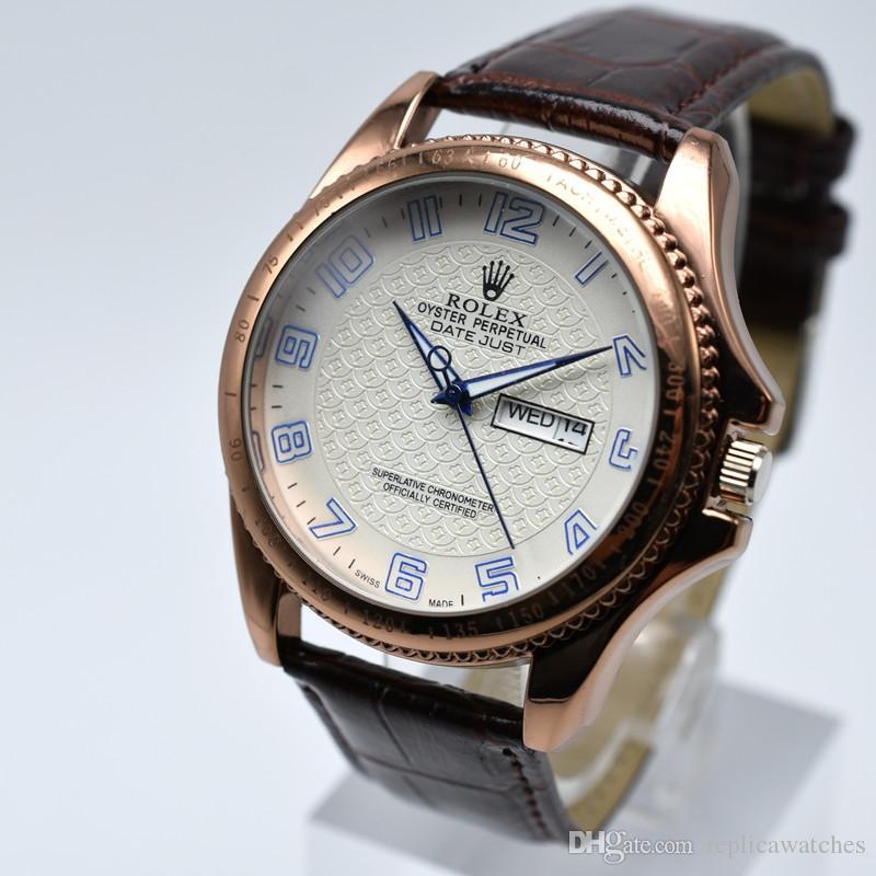b16d595e648 Compre Relojes De Lujo De Alta Calidad De La Marca De Relojes De Los  Hombres Relojes De Marca De Lujo Reloj De Hombre Relojes De Moda A Prueba  De Agua Reloj ...