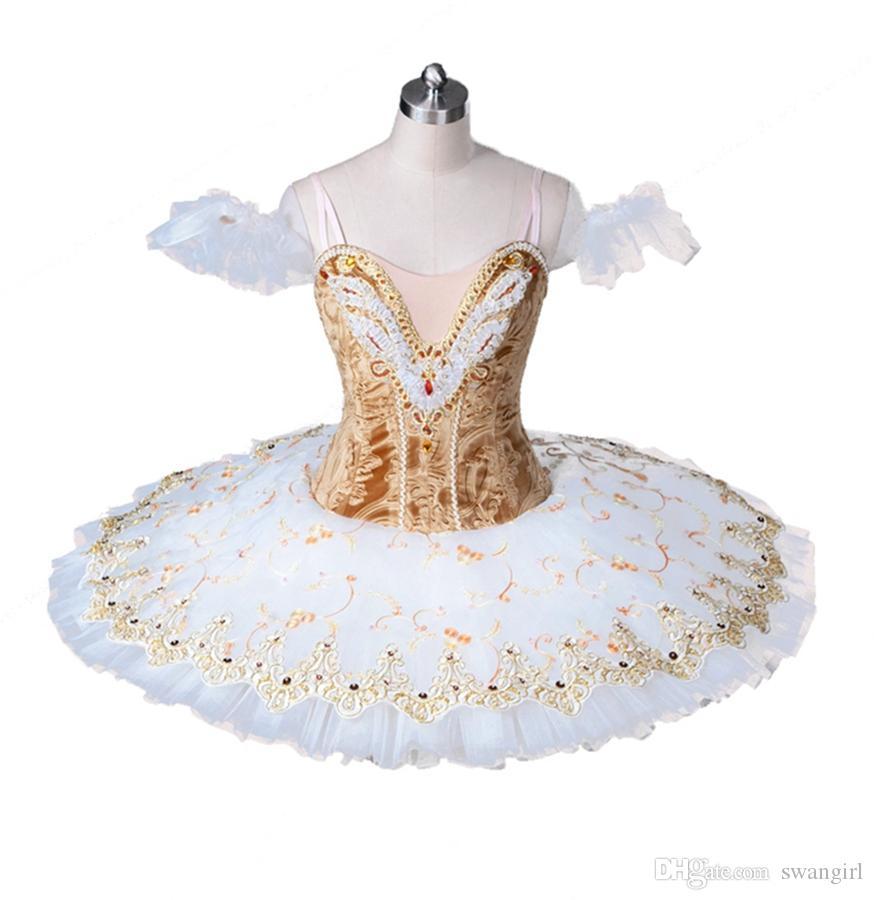 Acquista Adulto Beige Professionale Tutu Di Balletto Oro Bianco Pancake  Tutu Gonna Ballerina Professionale Tutu Di Balletto Costume Di Scena Le  Donne ... 66e5a539dd7