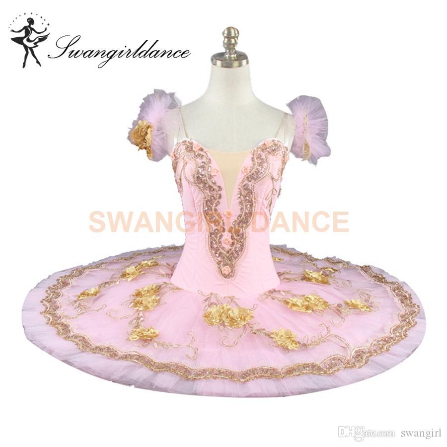 2018 Pink Flower Fairy Nutcracker Women Performance Professional