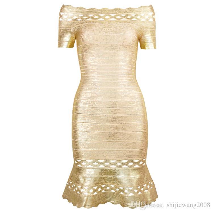 HOT new style woman stamping shoulder bandage dress dress evening, bandage skirt, banquet dress, wedding dress