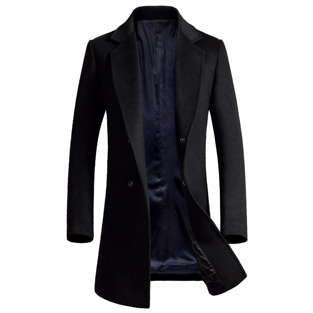 953f8a3820e Cheap Mens Single Breasted Leather Trench Coat Best High End Trench Coat