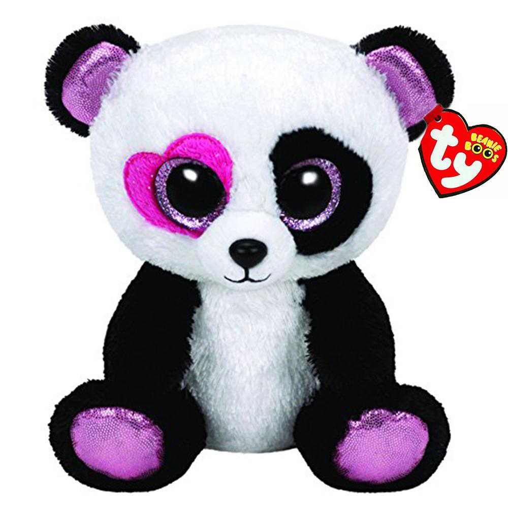 Pyoopeo Ty Beanie Boos 6 15cm Mandy The Panda Plush Regular Soft Big Eyed  Stuffed Animal Collectible Doll Toy With Heart Tag UK 2019 From Hanlley 5cb0cb28e90