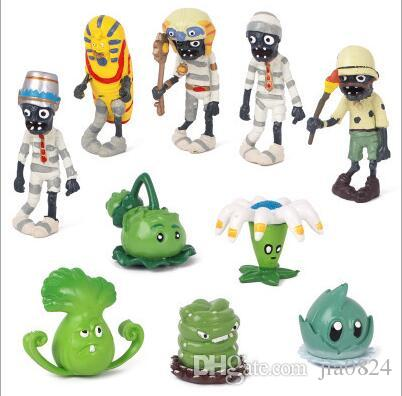 Plants vs Zombies PVZ Toy Plants Zombies PVC Action Figures Toy Doll Set for Collection Party Decoration