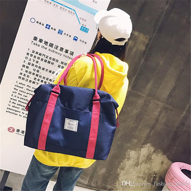 IN STOCK !!! Good Quality Boys & Girls Handbags Shoulder Bag Outdoors Women's Duffel Bag Exercise Gym Travel Bags Oxford Cloth