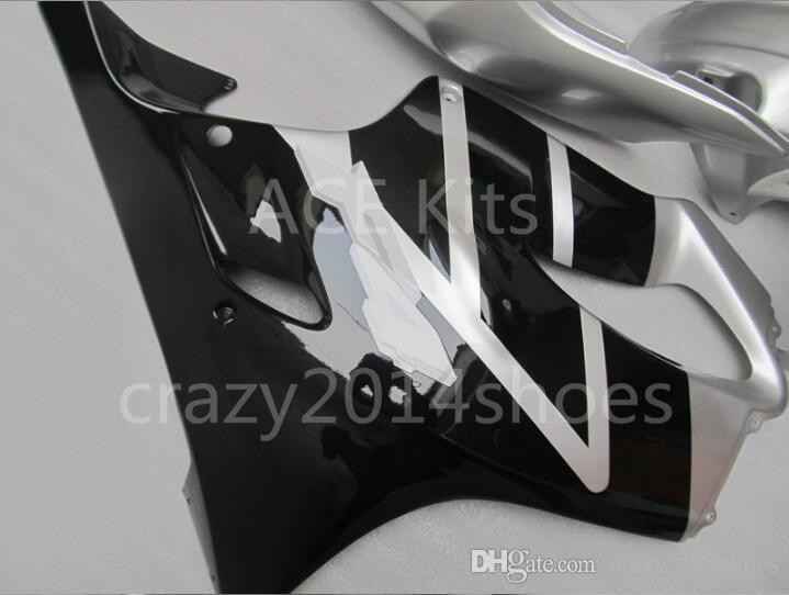 3 free gifts New Injection mold Fairing kit for HONDA CBR600F4 99 00 CBR600 F4 1999 2000 CBR 600 ABS White Black A1