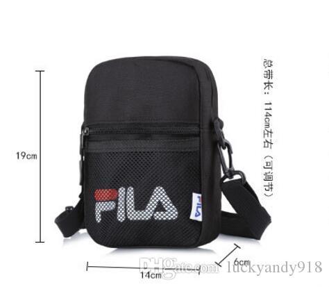 Wholesale Shoulder Bag Ladies Messenger Brand FILA Bag Cosmetic Bag ... 4165e29f65