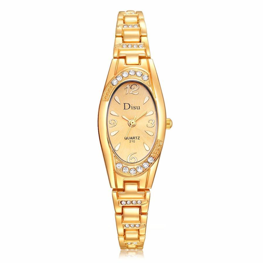 5d7bbcc02 Xiniu Women's Luxury Watches Rose Gold Plated Elegant Rhinestone Bracelet  Quartz Watch Ladies Dress Watches Montre Femme Clock Clock Lady Clock Women  Rose ...