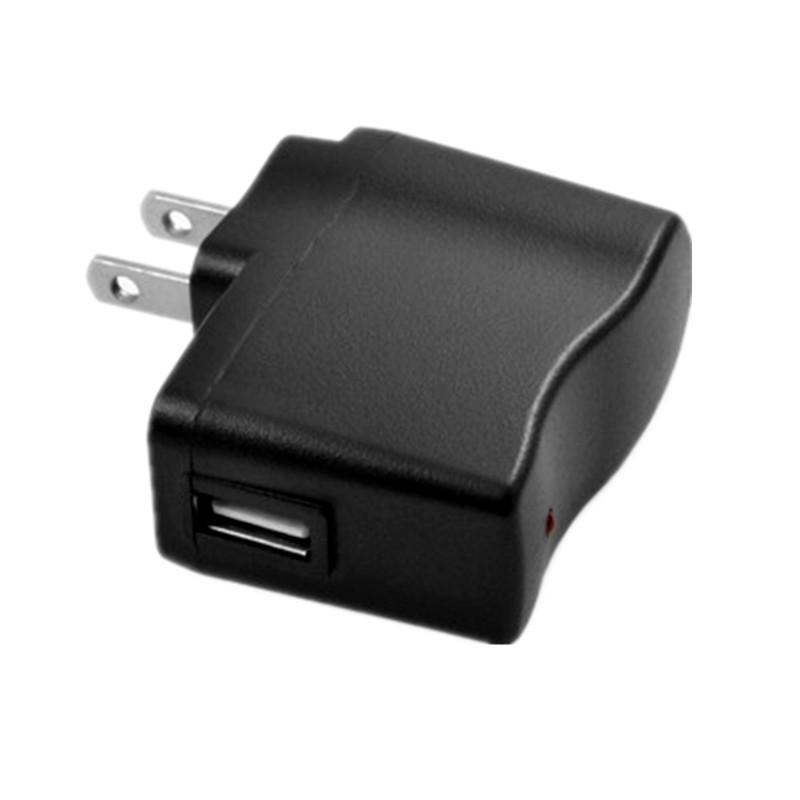 Noir US EU Plug AC adaptateur adaptateur secteur 5V 1000mAh réel 500mA chargeur mural de Voyage pour iPhone 5 6 ipod mp3 mp4 cigarette électronique