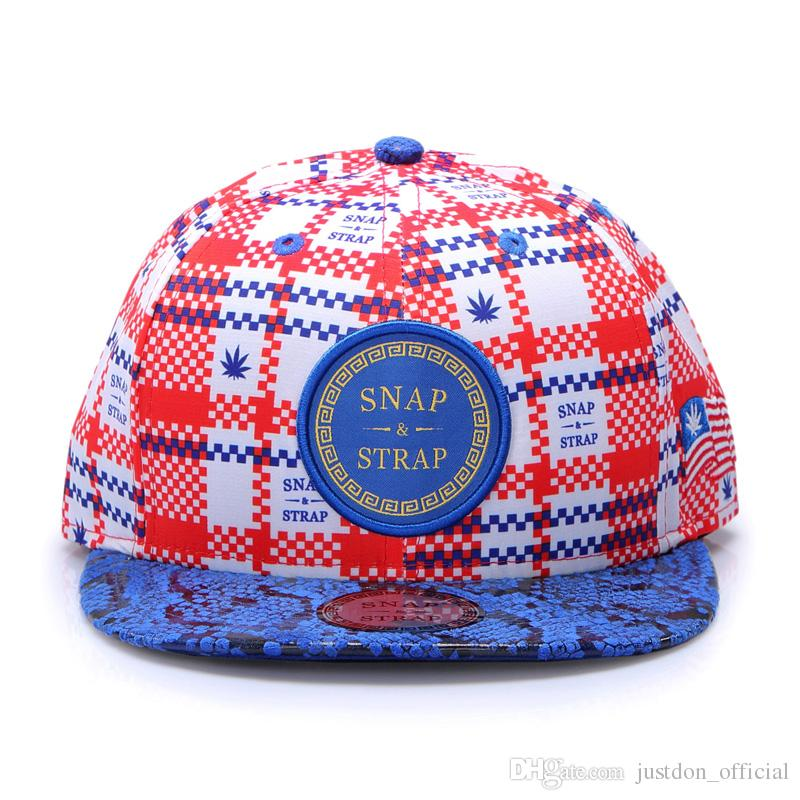956f16dd677 SNAP   STRAP Migrant Workers Stly Solid Flat Bill Hip Hop Snapback Hat  Patched BaseBall Caps For Men Women In Blue Red Skate Adjustable Cheap Snapback  Hats ...