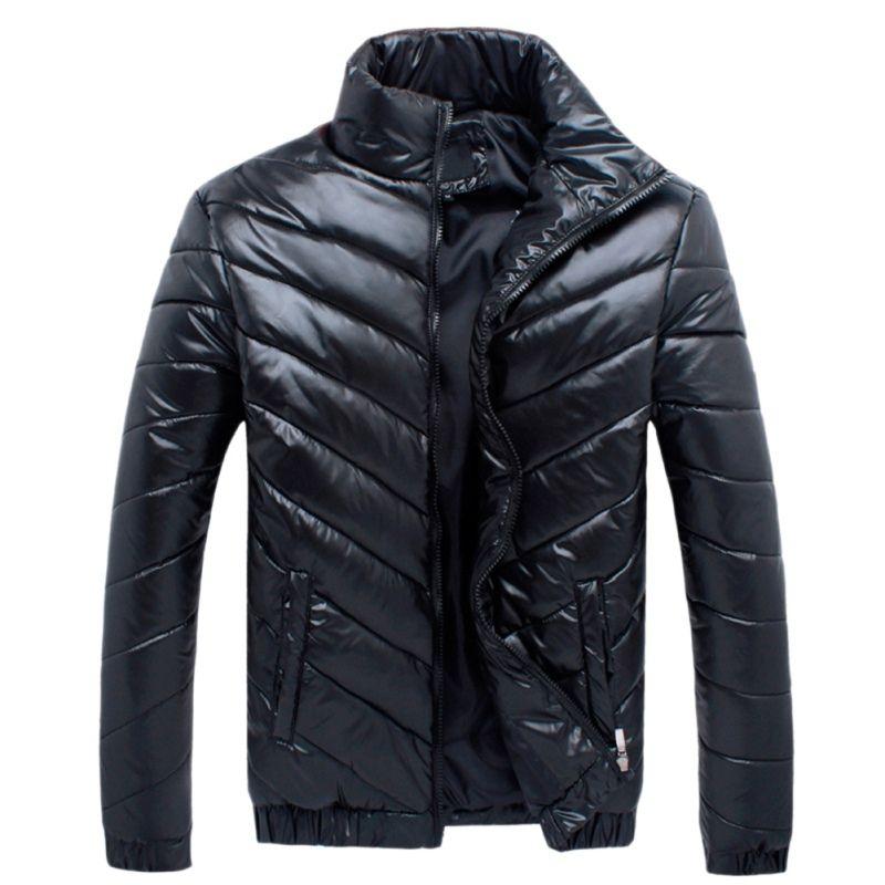 Compre Nueva 2018 Marca De Invierno Hombres Chaqueta Casual Chaquetas Para  Hombre Y Abrigos Gruesos Parka Hombres Outwear Chaqueta Masculina Ropa M  5XL T8 A ... ed73be2653bc